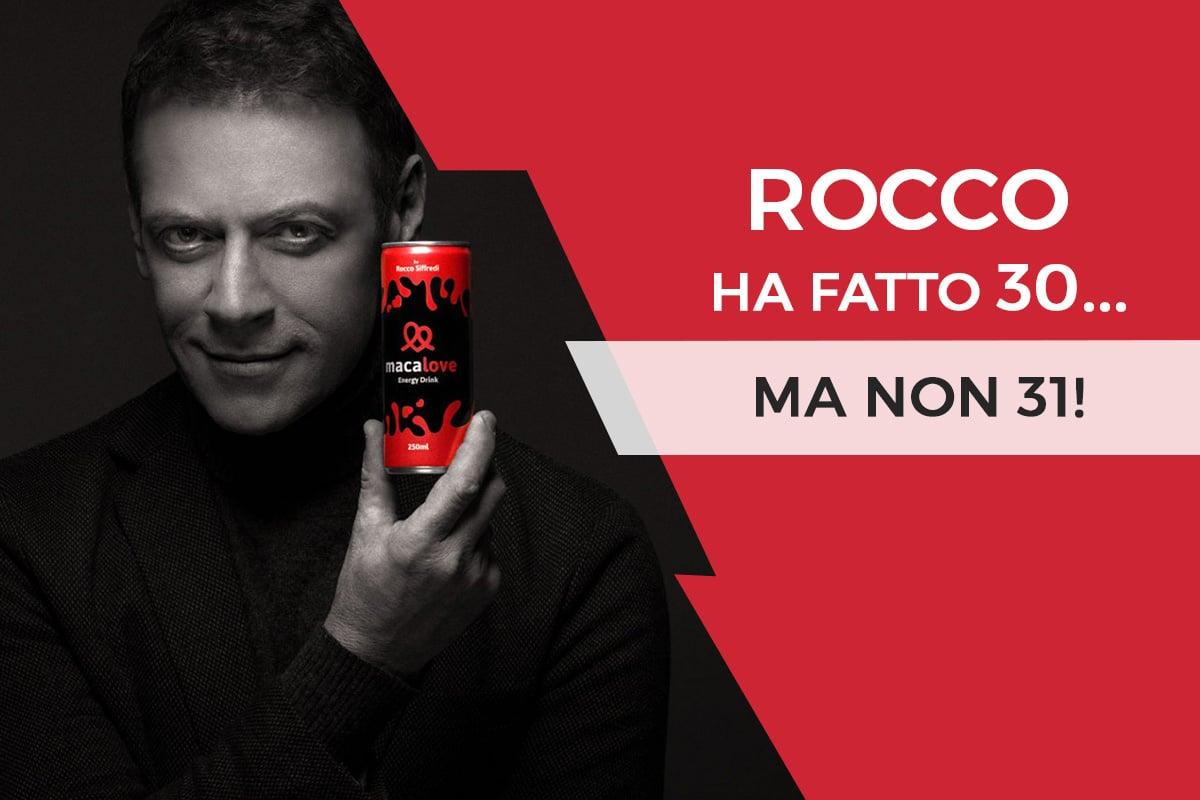 Maca Love: Rocco Siffredi ha fatto 30… ma non 31!