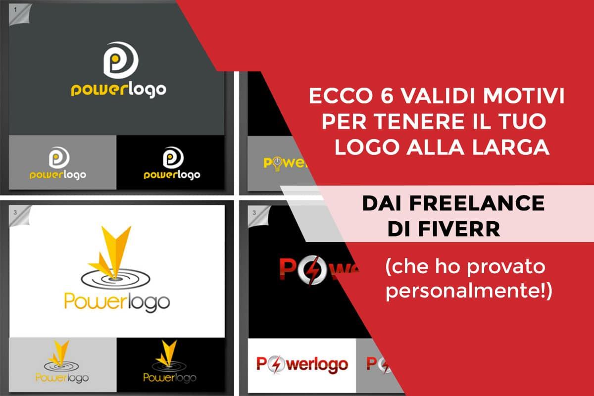 Ecco 6 validi motivi per tenere il tuo logo alla larga dai freelance di Fiverr